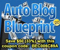 Auto Blog Blueprint 2.0 Course