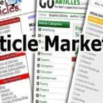 Article Marketing Stategies