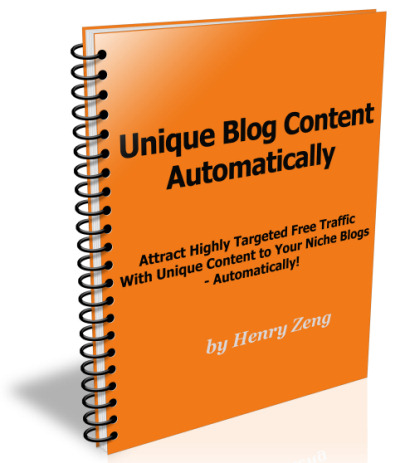 Unique Content Traffic