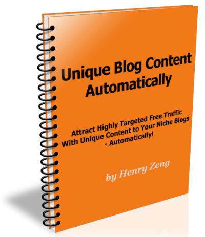 Unique Content Traffic