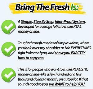 Bring The Fresh