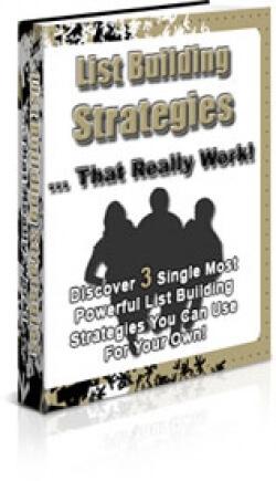 Bonus 3: List Building Strategies