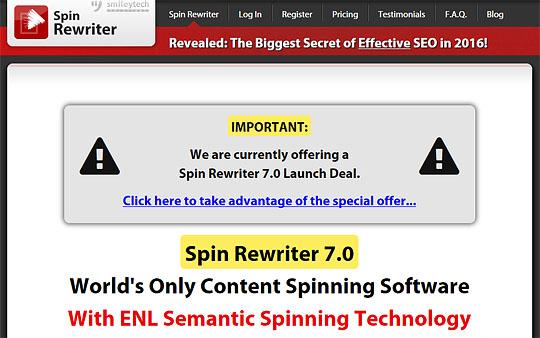 SpinRewriter 7
