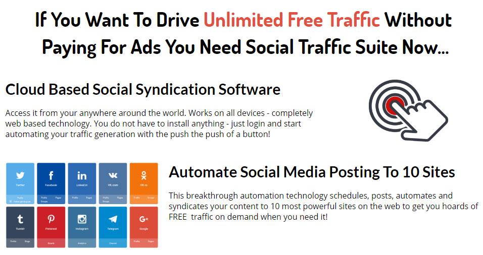 VideoPal Social Traffic Suite