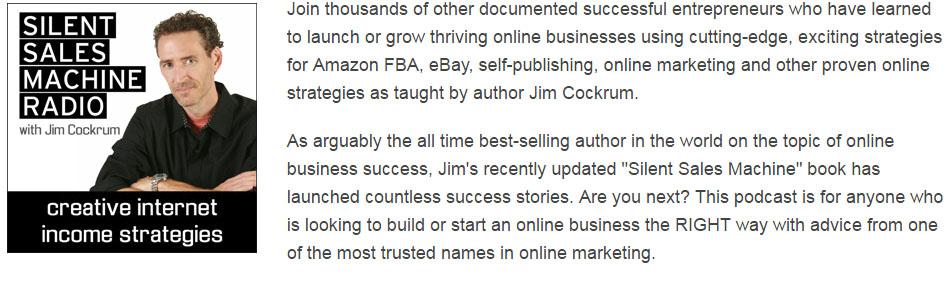 Jim Cockrum Podcast
