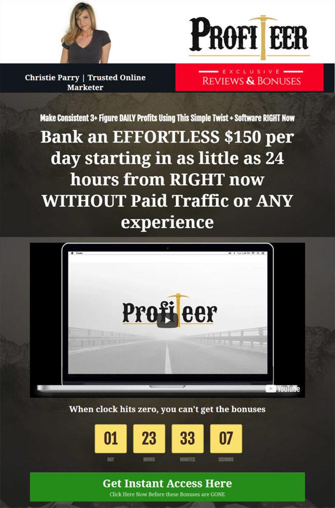 Profiteer Bonuses