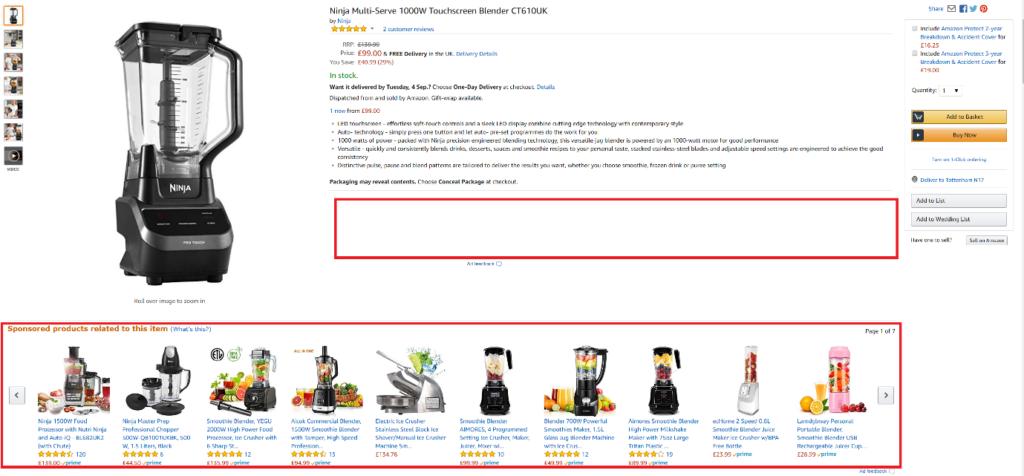 Amazon Keyword Search