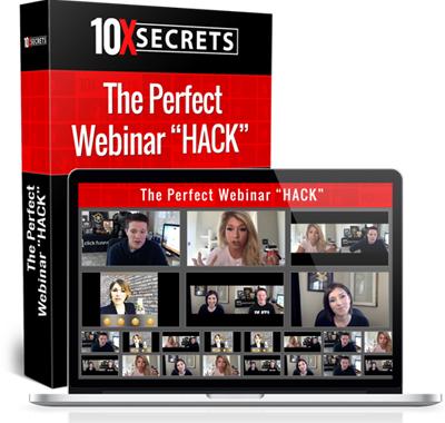 10X Secrets Webinar Hack