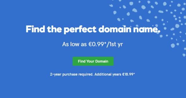 GoDaddy Domain Offer