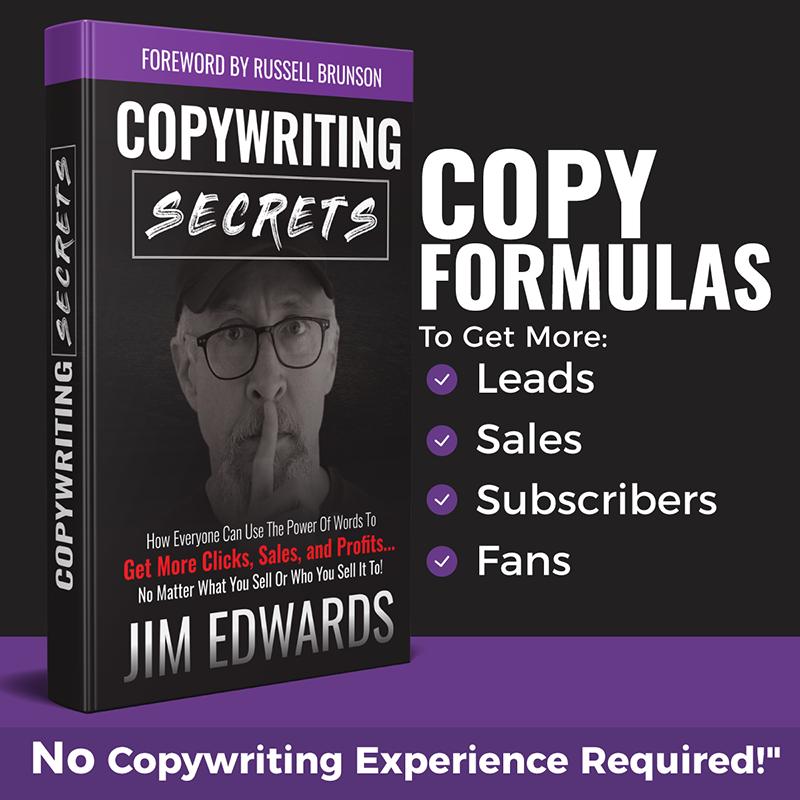 Free CopyWriting Secrets Book
