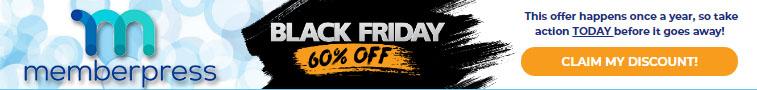 MemberPress Black Friday Deal