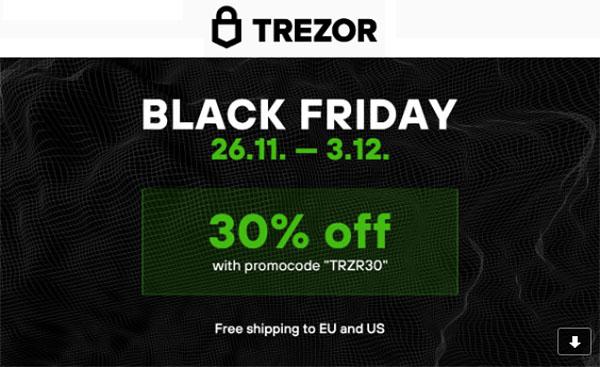 Trezor Black Friday Deals