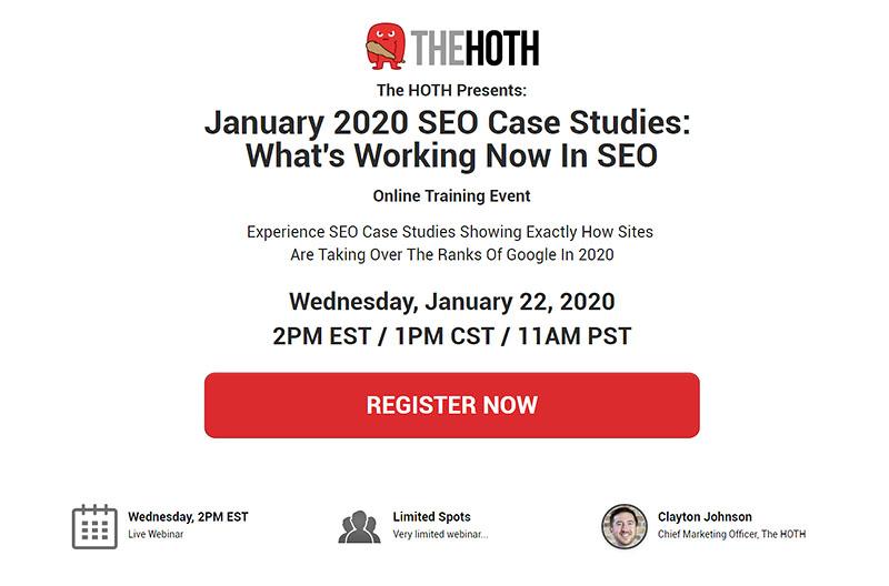 January 2020 SEO Case Studies