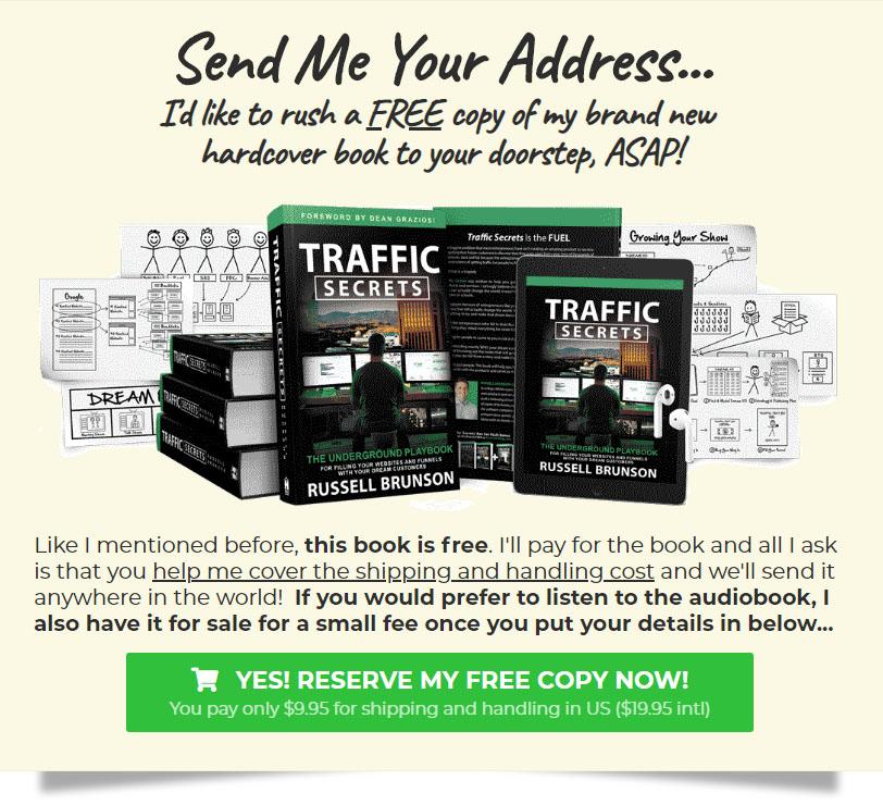 Traffic Secrets - Send Me Your Address