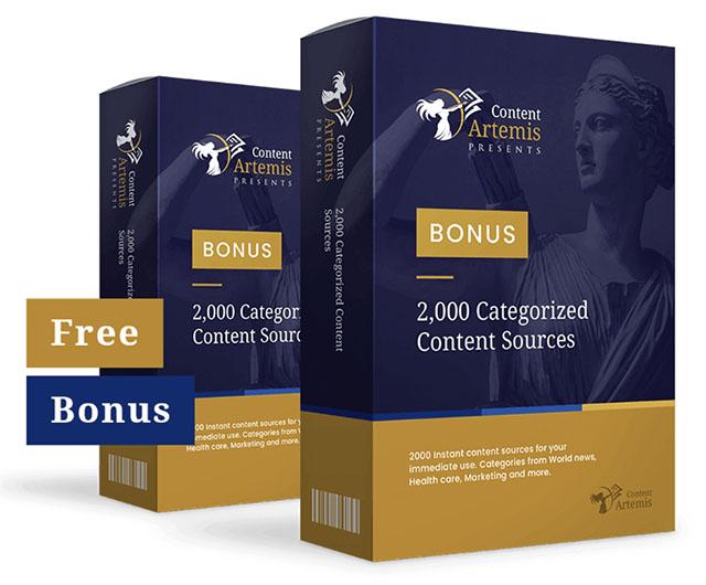 Content Artemis Bonus 1